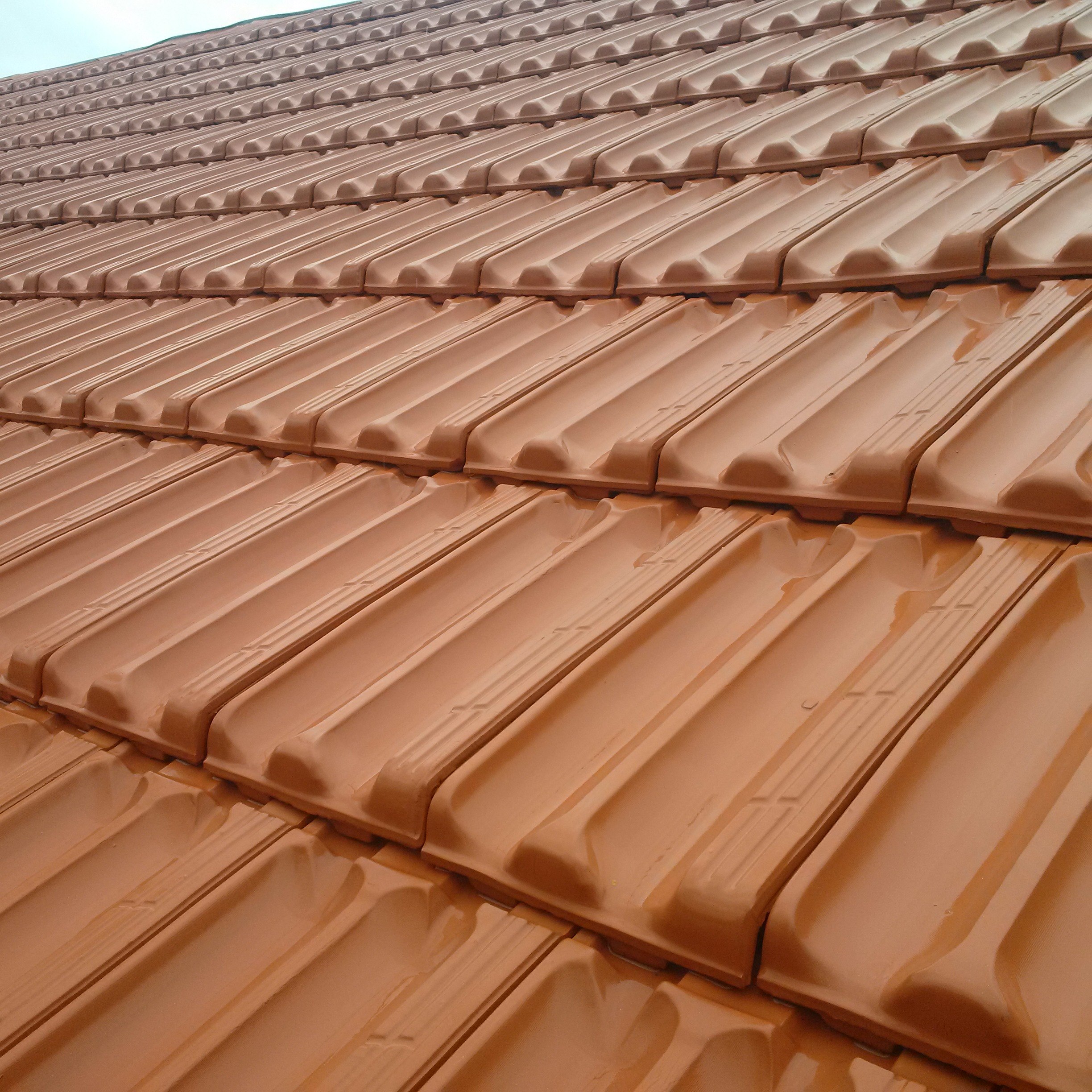 Flat Roof Tile - Stoneleaf Tiles